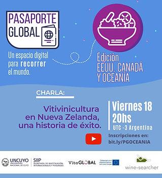 Pasaporte Global - Viticultura en Nueva