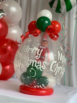 Elf on the shelf 'POP' Reveal Balloon