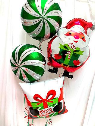 Xmas Mixed Balloon Bundle - £25