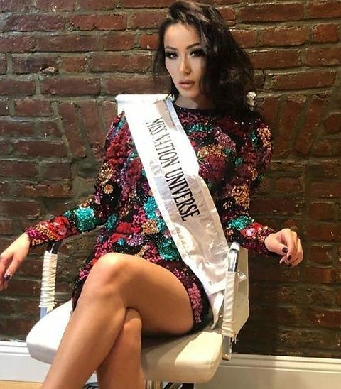 Arkerke Iskak, Miss Nation Universe 2020