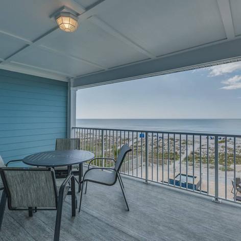 Gulf Condo Balcony