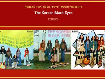 The Korean Black Eyes