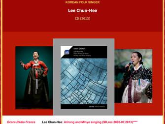 이춘희 - Lee Chun-Hee