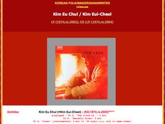 김의철 - Kim Eui-Cheol (Kim Eu Chul / Kim Uichul)