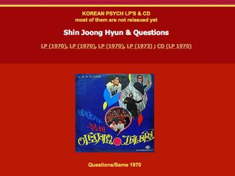 신중현과 퀘션스Shin Jung-Hyun & Questions