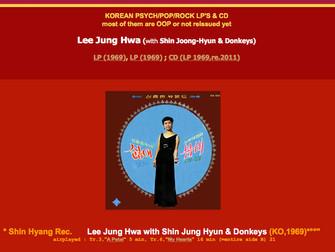 이정화 - Lee Jung-Hwa / Lee Jeong-Hwa & Donkeys