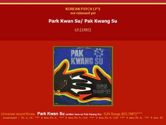 박광수 - Park Kwang-Soo (The Men)