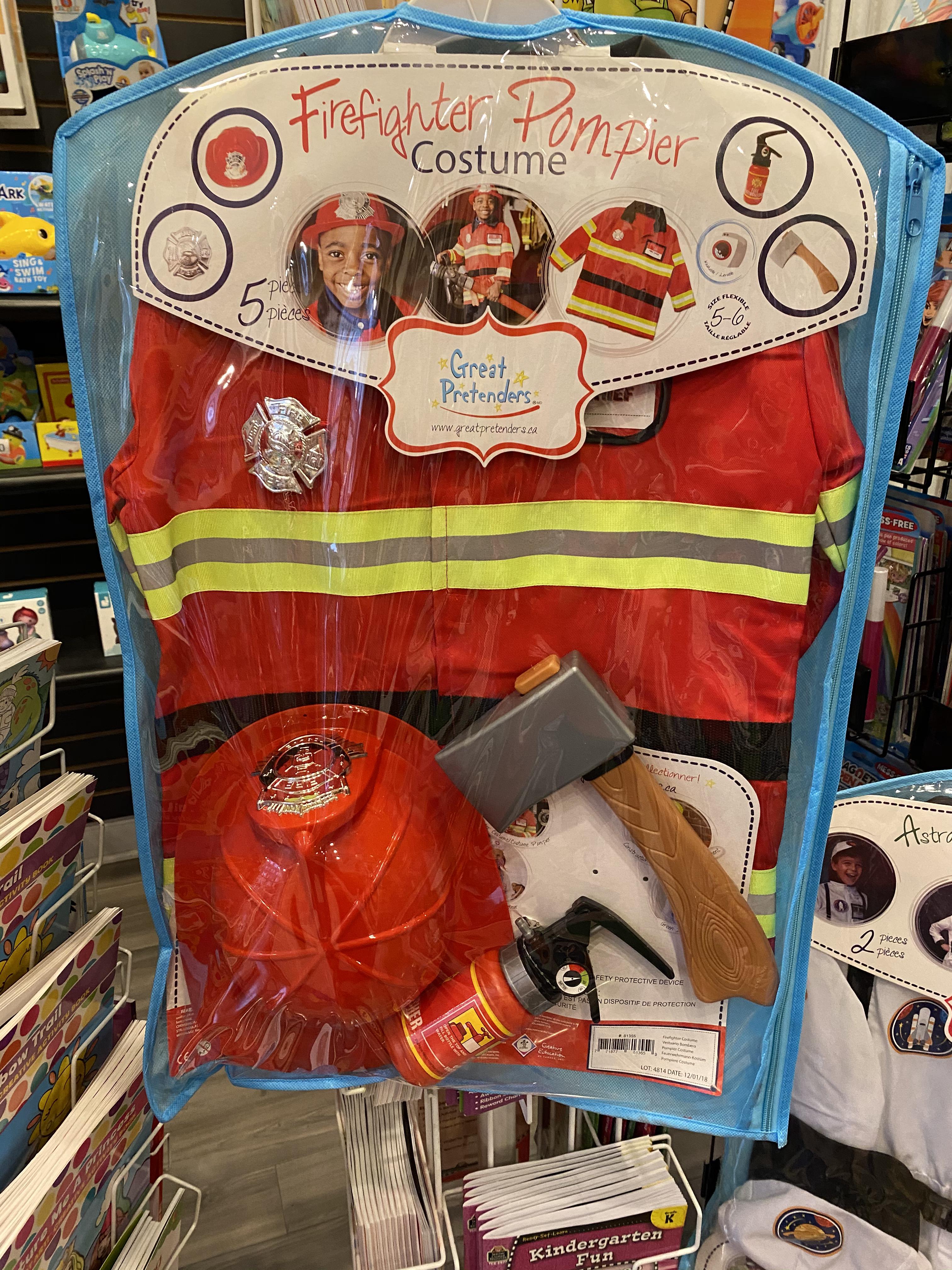 DRESS UP FIREFIGHTER