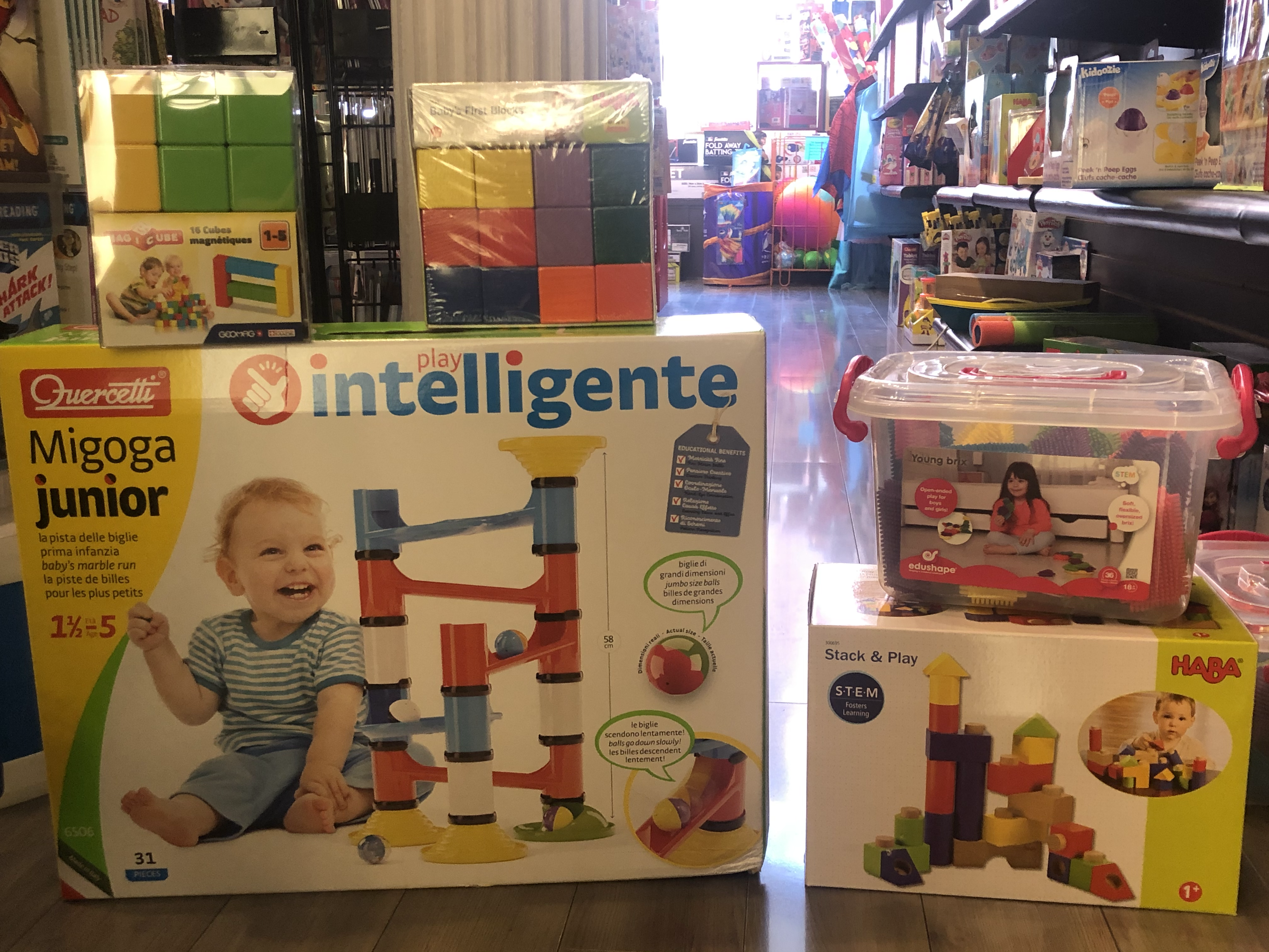 Toddler Building Toys