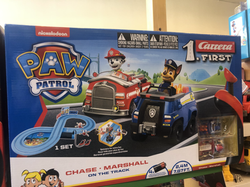 PAW PATROL RACE TRACK