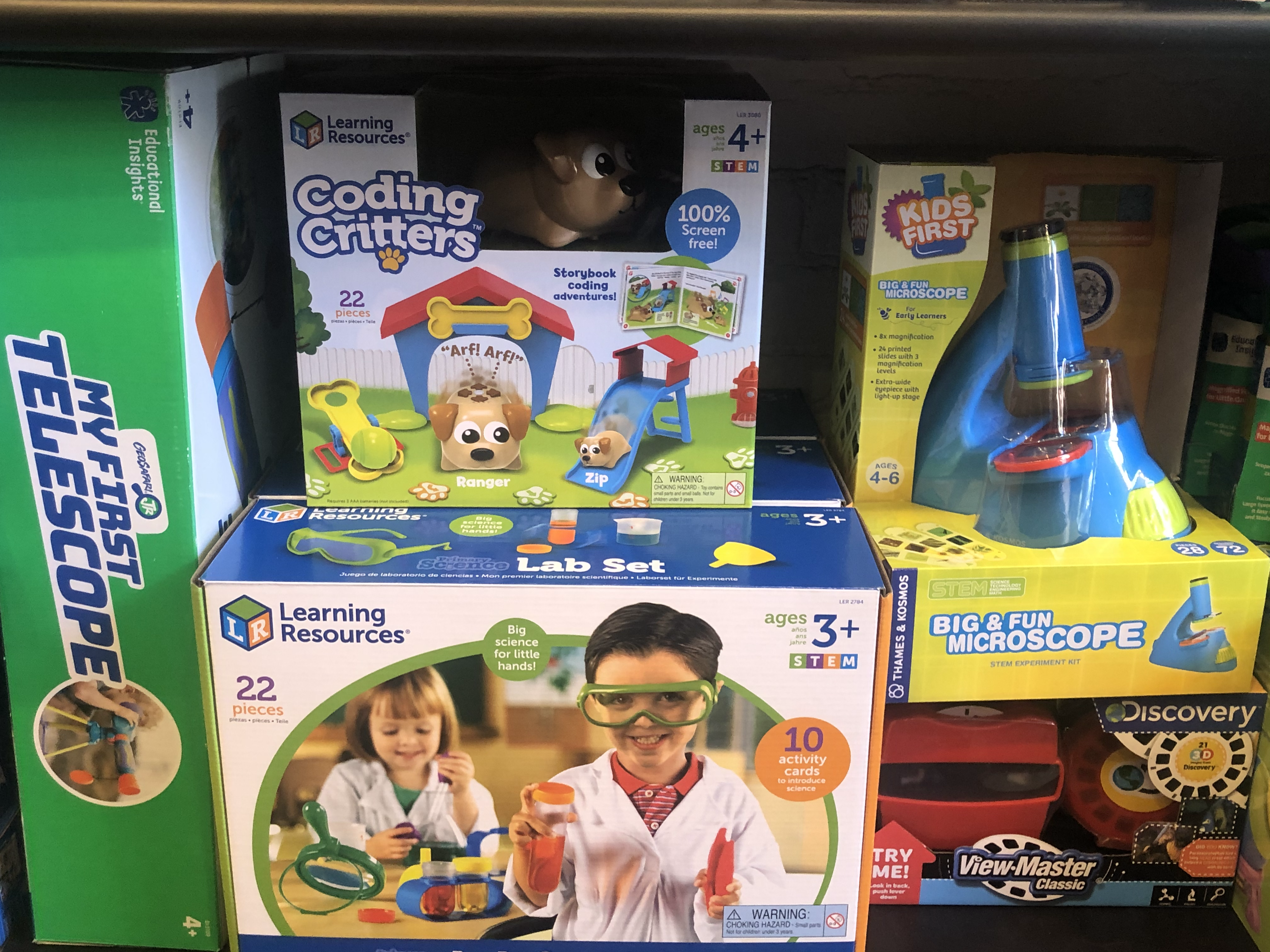 SCIENCE KITS AGES 3-5