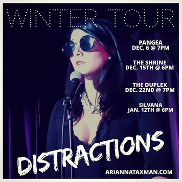 DISTRACTIONS WINTER TOUR!!!!❄️
