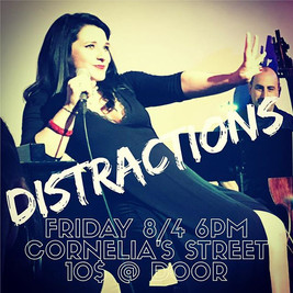 NEXT STOP on Tour of DISTRACTIONS!
