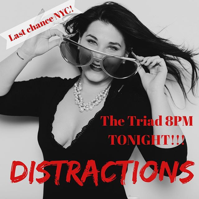 🚨 TONIGHT!! DISTRACTIONS final NYC show