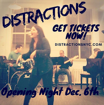 DISTRACTIONS WINTER TOUR!!Wednesday is O