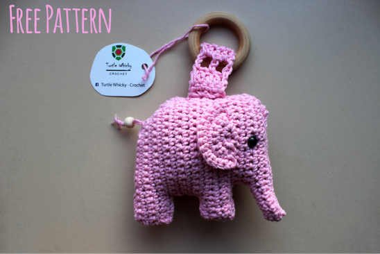 Amigurumi Elephant Pattern : Crochet elephant amigurumi turtle whicky crochet home