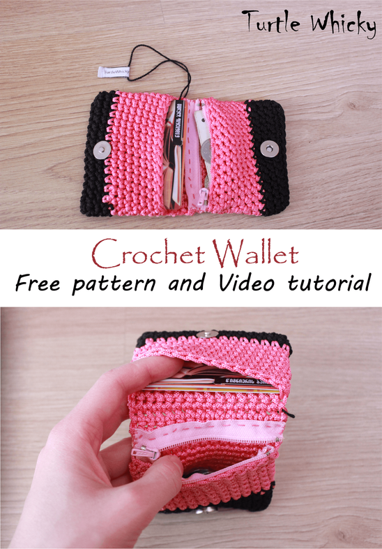 Crochet Wallet Pattern Image Collections Knitting Patterns Free