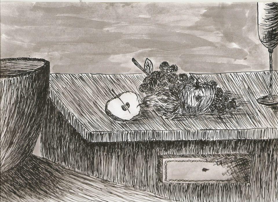 Título/Title: Mesa morta/Dead table