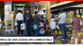 CRÓNICA DE UNA CIUDAD SIN COMBUSTIBLE