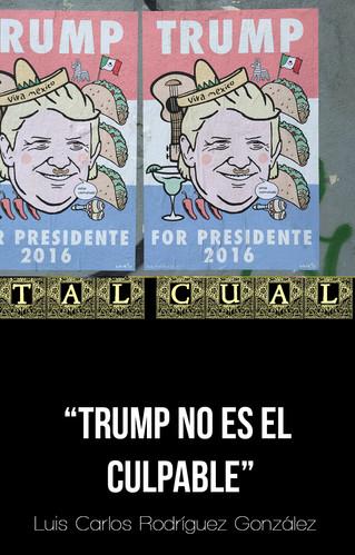 TRUMP NO ES EL CULPABLE