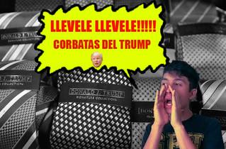 Llévela, llévela. Trump remata sus corbatas en tianguis mexicanos