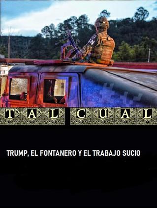 TRUMP, EL FONTANERO Y EL TRABAJO SUCIO