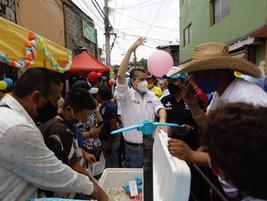 QUEREMOS QUE NIÑAS Y NIÑOS ESTÉN PROTEGIDOS EN NUESTRA DEMARCACIÓN: GIOVANI GUTIÉRREZ