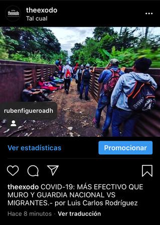 COVID-19: MAS EFECTIVO QUE MURO Y GUARDIA NACIONAL VS MIGRANTES
