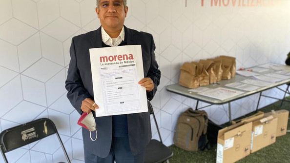 Va Heliodoro Luna Vite por diputación federal por Huauchinango