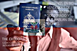"""HAITIANOS EN BC: VENDEDORES DE """"BURRITOS"""" CON DOCTORADO Y QUE HABLAN TRES IDIOMAS"""
