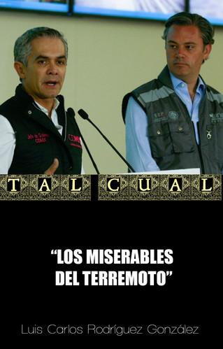 LOS MISERABLES DEL TERREMOTO