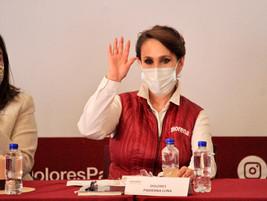 Se compromete Dolores Padierna a erradicar la violencia de género en la Alcaldía Cuauhtémoc