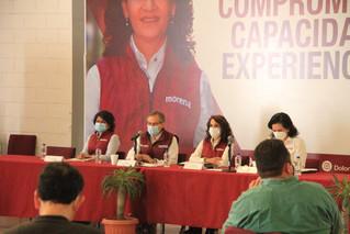 Presenta Dolores Padierna a Manuel Oropeza como titular de la Dirección General Jurídica y de Gobier