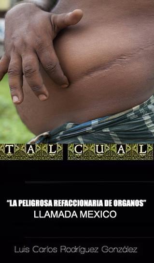 """LA PELIGROSA """"REFACCIONARIA DE ORGANOS"""" LLAMADA MEXICO"""
