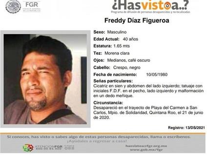 """""""BUSCO A MI HERMANO ENTRE MILES DE DESAPARECIDOS EN MEXICO"""""""
