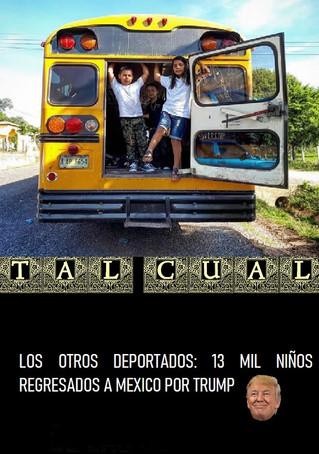 LOS OTROS DEPORTADOS: 13 MIL NIÑOS REGRESADOS A MEXICO POR TRUMP