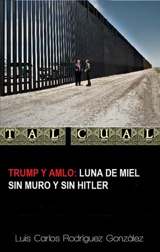 TRUMP Y AMLO: LUNA DE MIEL SIN MURO Y SIN HITLER