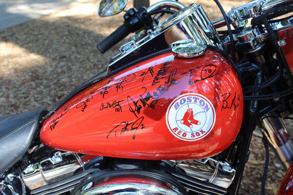 Offical Sox motorcyle