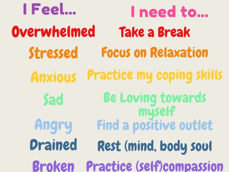 Time to think about Self-Care