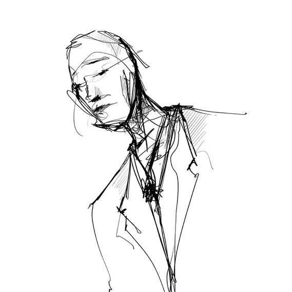 Homme au costume #01