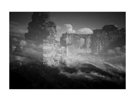 Le village abandonné de Comes dans les Pyrénées