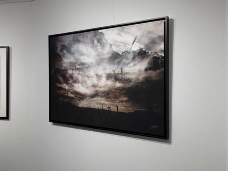 Dernière vente / Trains & Clouds en 125 x 85 cm