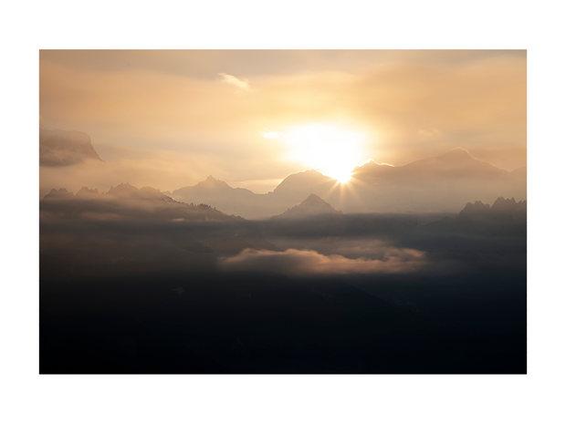 Le Mont Blanc au lever #02