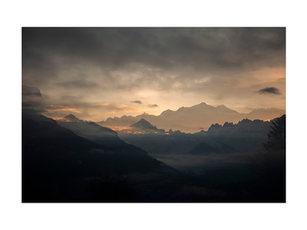 Le Mont Blanc au lever
