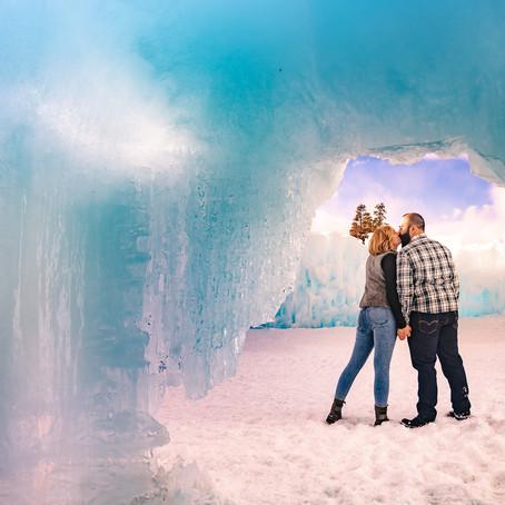 The Ice Castles / Lake Dillon Sunset Shoot