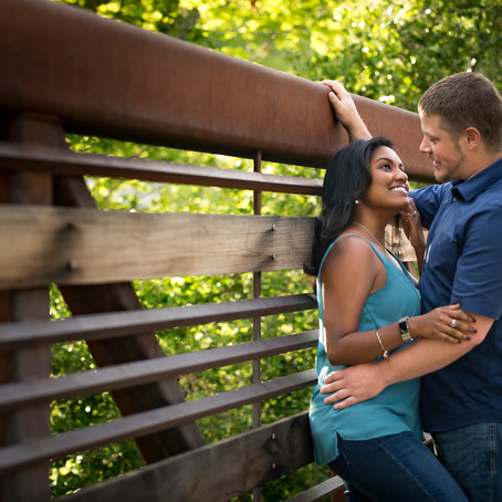 Engagement Session Through Golden, Colorado