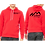 Thumbnail: Red Bella + Canvas Unisex Pullover Hoodie