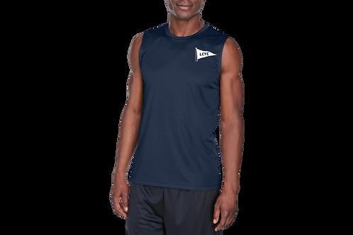Men's Zone Performance Muscle Shirt - Left Chest Design