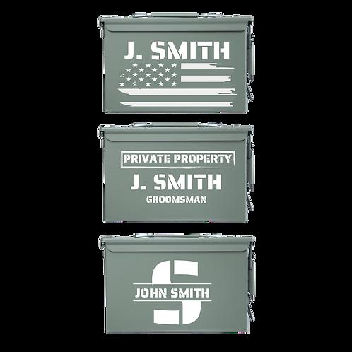 Personalized Ammo Box