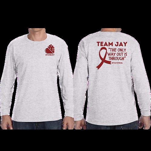 Ash 'Team Jay' Long Sleeve Tee - unisex